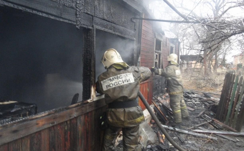 Следователи проводят проверку после гибели людей во время пожара