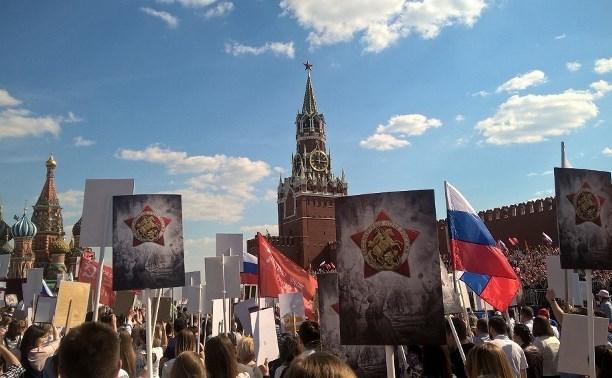 Ставшая «Послом Победы» студентка ТулГУ рассказала о работе на параде в Москве