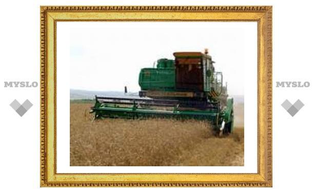 Выставка сельхозтехники проходит под Тулой