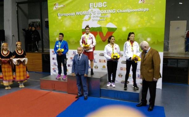 Тульская боксерша Дарья Абрамова – чемпионка Европы