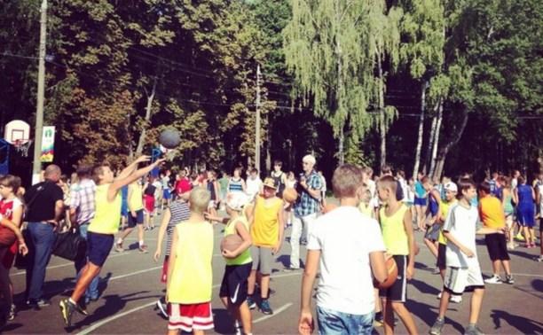 В Белоусовском парке стартовал День физкультурника
