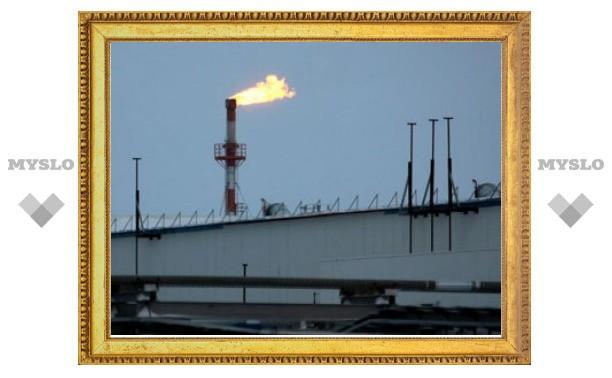 """Газпром"" предупредил о снижении добычи газа"