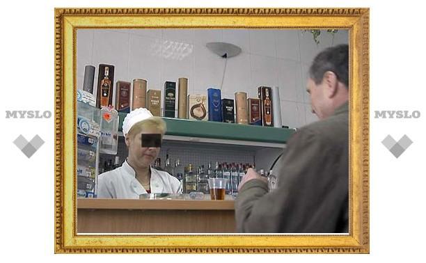 Туляк отлупил продавщицу за плохую водку