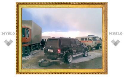 В результате автокатастрофы под Тулой погибла женщина