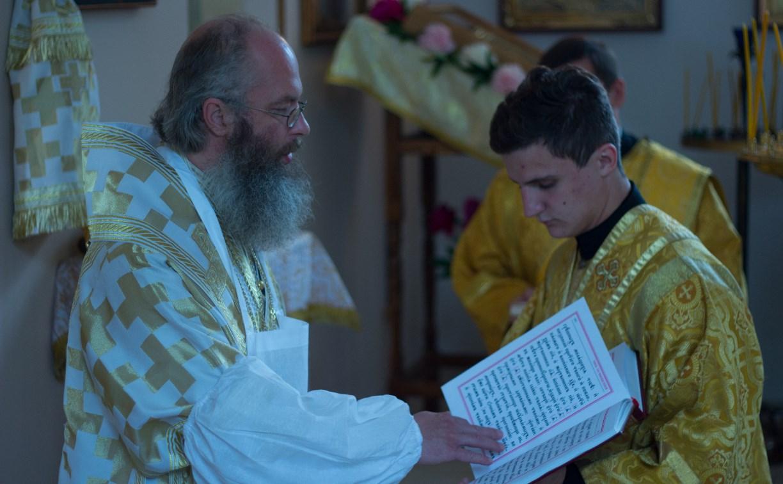 В Ясногорском районе освятили храм святых Космы и Дамиана