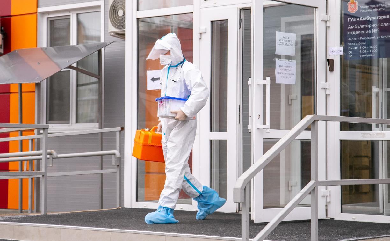 В Тульской области суточное число заболевших ковидом резко увеличилось до 161