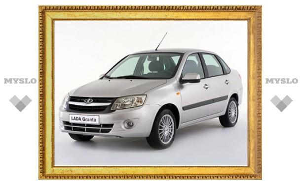 Объявлены цены на седан Lada Granta