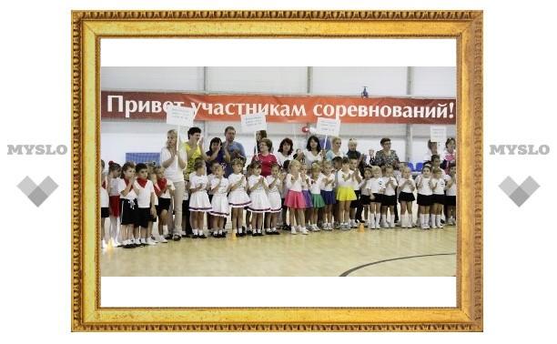 Для тульских дошколят устроили спортивный праздник