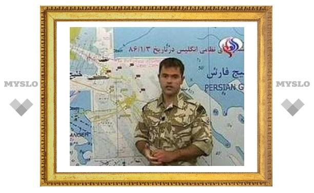 Иранское телевидение снова показало захваченных британцев
