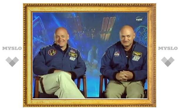 NASA отправит на МКС близнецов