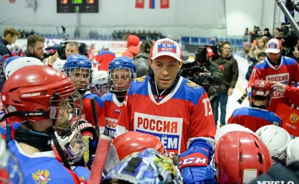 Туляков приглашают поддержать олимпийскую сборную России