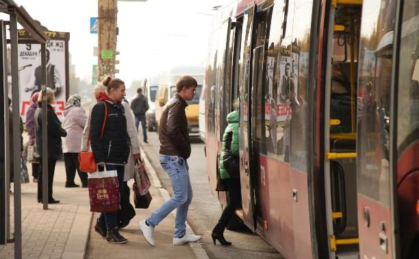 В конце мая в Туле начнут изучать пассажиропоток на автобусах