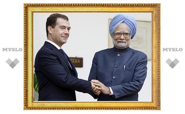 Медведев предложил Индии сотрудничество в области фармбизнеса