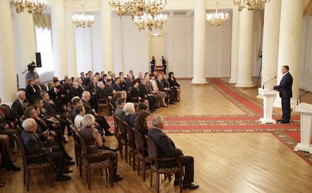 33 выдающимся жителям Тульской области вручили государственные и региональные награды