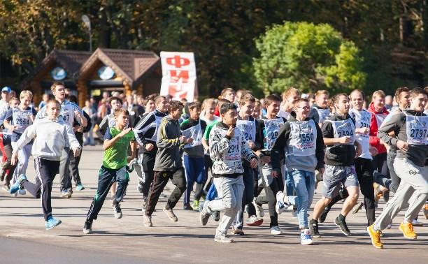 27 сентября Тулу ждёт «Кросс нации-2015»