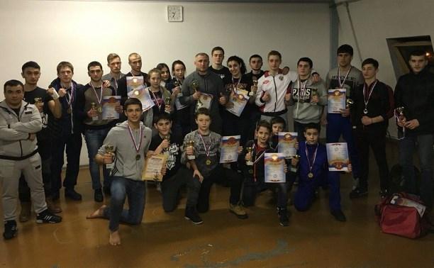 Команда Тульской области по тайскому боксу завоевала первое место на Всероссийском турнире