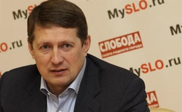 Евгений Авилов предложил тулякам обсудить новые городские лавочки