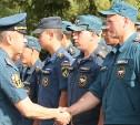 Тульские спасатели вернулись из Брянской области