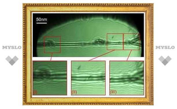 Впервые получены изображения отдельных молекул ДНК