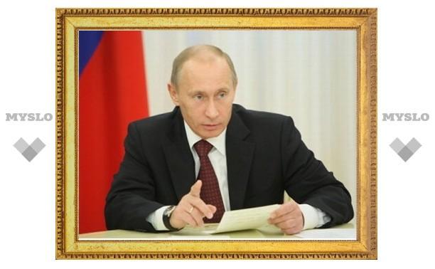 Путин поручил Зубкову отрегулировать рынок алкоголя в России