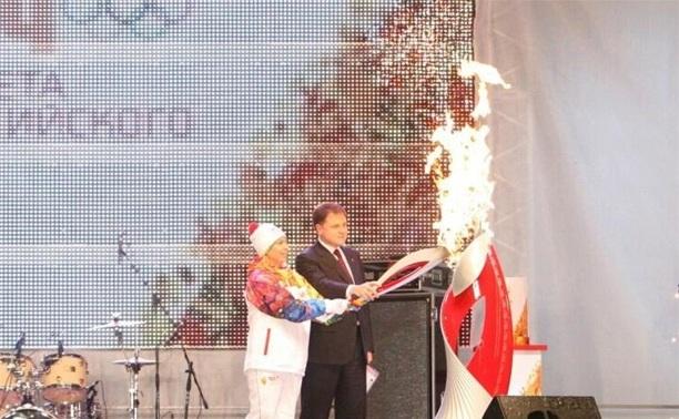 В Тульской области завершилась эстафета олимпийского огня
