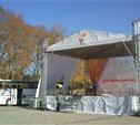В Ясной Поляне вовсю идет подготовка к проведению Эстафеты Олимпийского огня