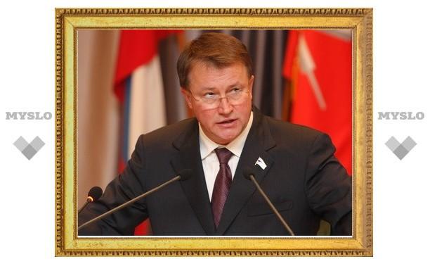 Предпринимателей поздравил губернатор Вячеслав Дудка