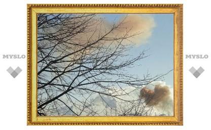 Над Тулой появились рыжие облака