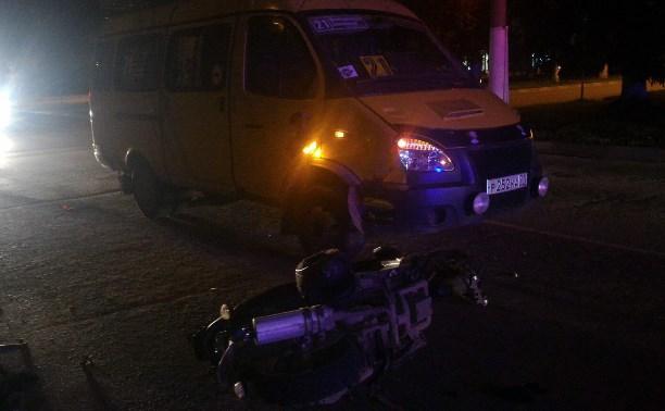 В аварии в Новомосковске пострадал «бесправный» скутерист
