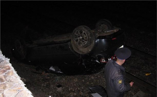 В сорвавшемся с моста автомобиле на Косой горе никто не пострадал