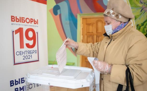Алексей Дюмин: «Хочу поблагодарить жителей Тульской области, которые пришли на избирательные участки»