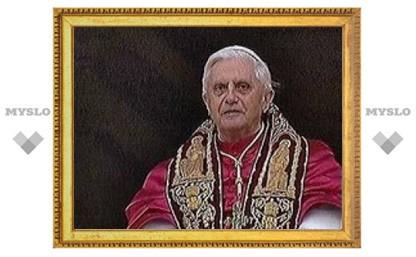 У Папы вчера был день рождения