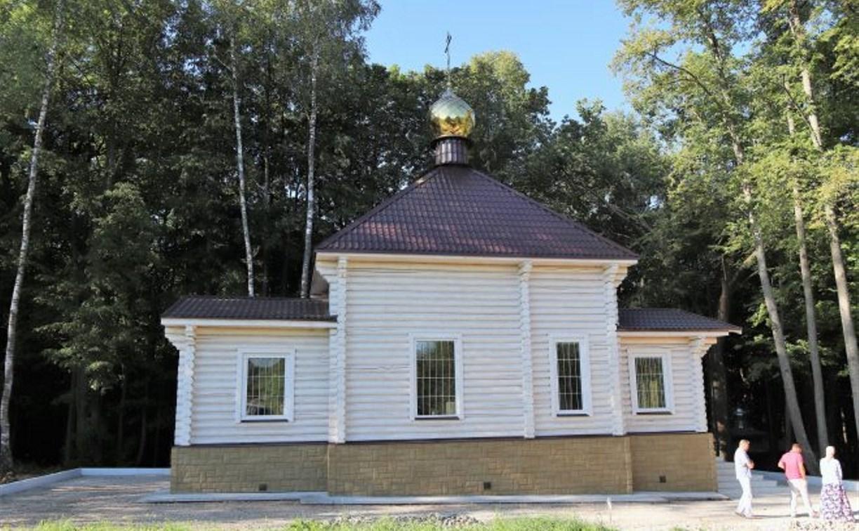 В Алексинском районе открылся новый храм