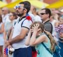 Как туляки болели за сборную России: фоторепортаж