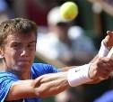 Тульский теннисист уступил на турнире в Марселе