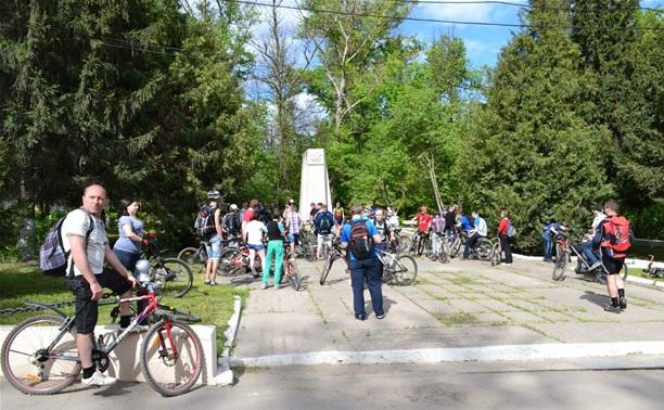 Тульские велосипедисты провели традиционный велопробег