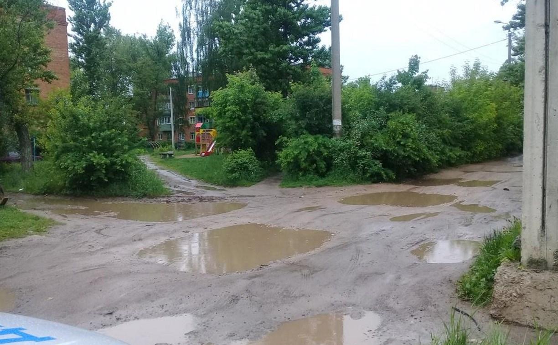 В Алексине во дворе дома пьяный водитель сбил школьника