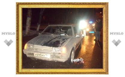 В Туле автомобиль насмерть сбил женщину