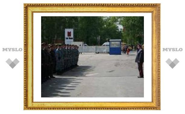 Тульские милиционеры отправились на экономический форум