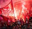 После матча в Туле «Спартак» оштрафован за пиротехнику, мат и вырванные кресла на стадионе