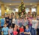 Тульские школьники побывали на новогодней ёлке в Кремлёвском Дворце
