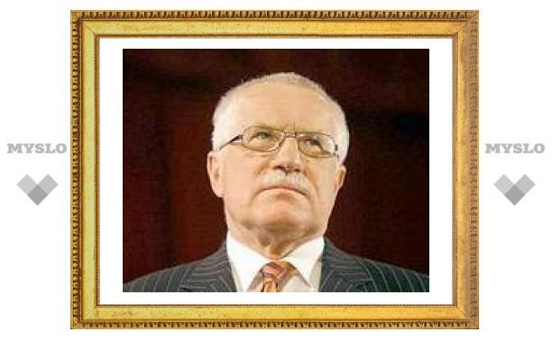 Президент Чехии призвал сограждан не менять крону на евро