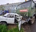 В Туле КамАЗ подмял «шестерку»: погиб мужчина