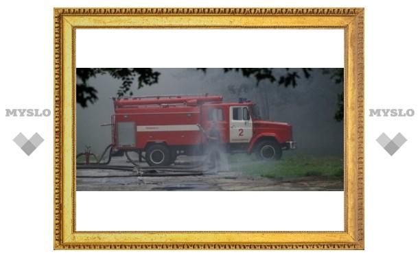 В Туле снизилось количество пожаров