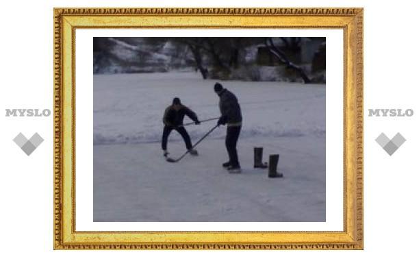 Ясная Поляна приглашает покататься на коньках!