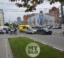 В ДТП на ул. Советской в Туле пострадали женщина и ребенок