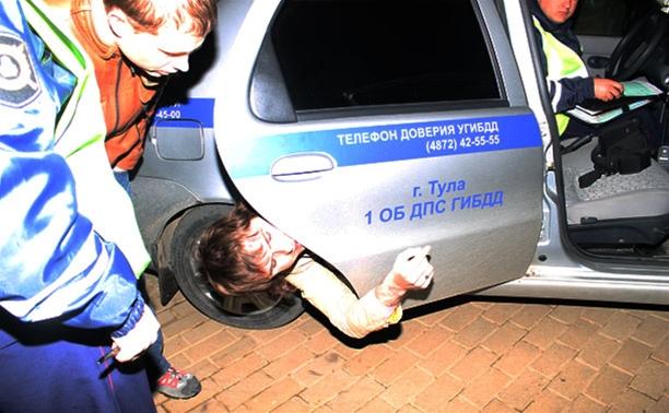 В Туле гаишники устроили погоню за пьяным