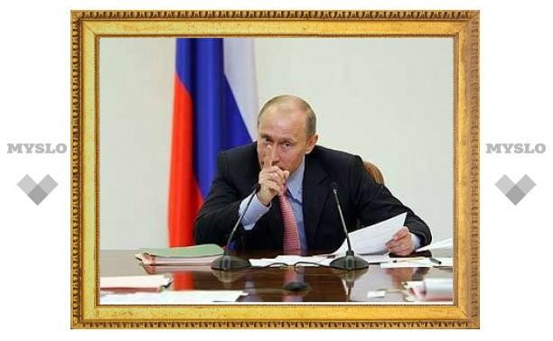 Путин признал работу судов присяжных неэффективной