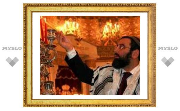 Евреи Тулы отмечают Хануку