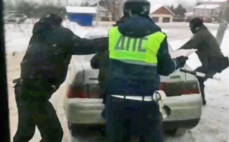 Тульская полиция обнародовала кадры задержания наркоторговцев